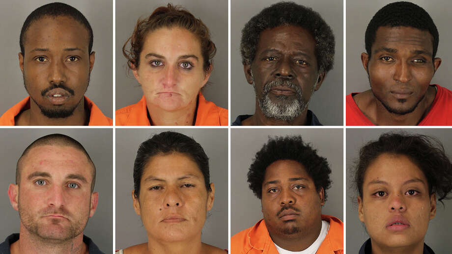 BPD says they arrested 40 suspects during a citywide warrant roundup on Oct. 21. Photo: Courtesy Of Beaumont PD