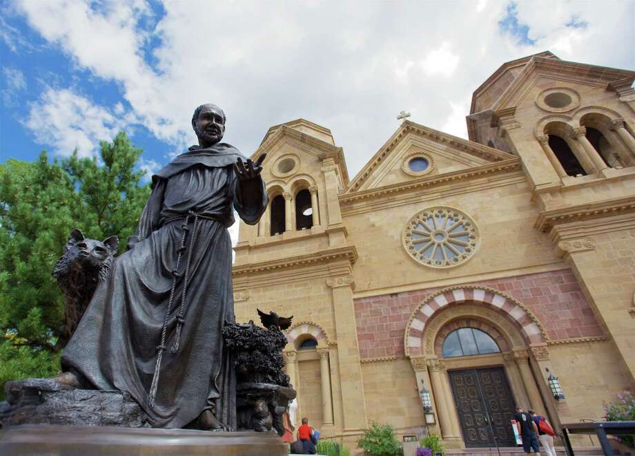 "Early lifeFrancis was born Giovanni di Pietro di Bernardone on September 26, 1182 in Assisi, Italy, son of an Italian silk merchant and a French noblewoman. His father started calling him Francesco (""Frenchman"") from an early age.  Photo: Jay Dryden / copyright 2015 Jay Dryden 