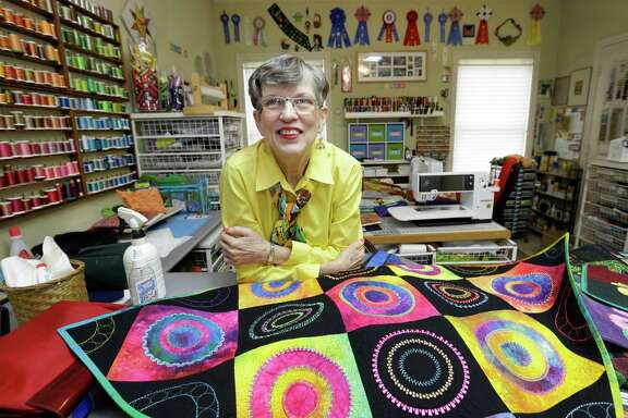 Libby Lehman was a world-famous quilter, author and teacher until a brain aneurysm and stroke in 2013 ended her career.