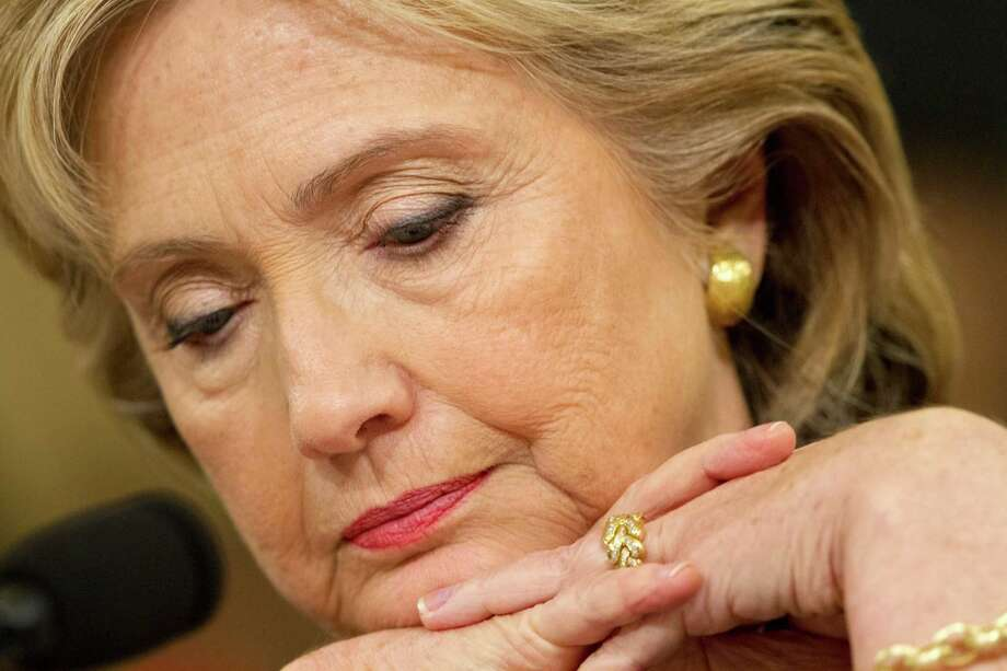 """Clinton's testimony that her use of personal email """"was allowed,"""" is misleading. Photo: Jacquelyn Martin /Associated Press / AP"""