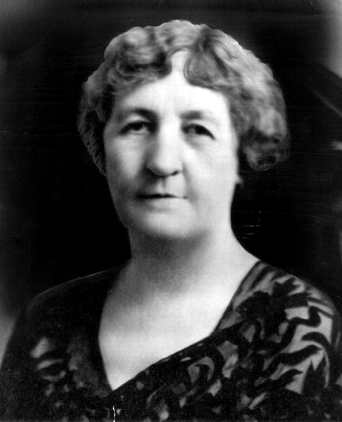 FILE--Former Texas Gov. Miriam 'Ma' Ferguson, who served two two-year terms, from 1925-27 and from 1933-35, is shown in this undated file photo. The Texas governor's limited power in granting reprieves and pardons for condemned inmates is rooted in a 1920s scandal associated with Ferguson, the state's first woman governor. Ferguson's first term was notable for the unusually high number of pardons she granted, averaging 100 per month, more than 2,000 during her two-year term, according to the Texas State Library. (AP Photo, File)
