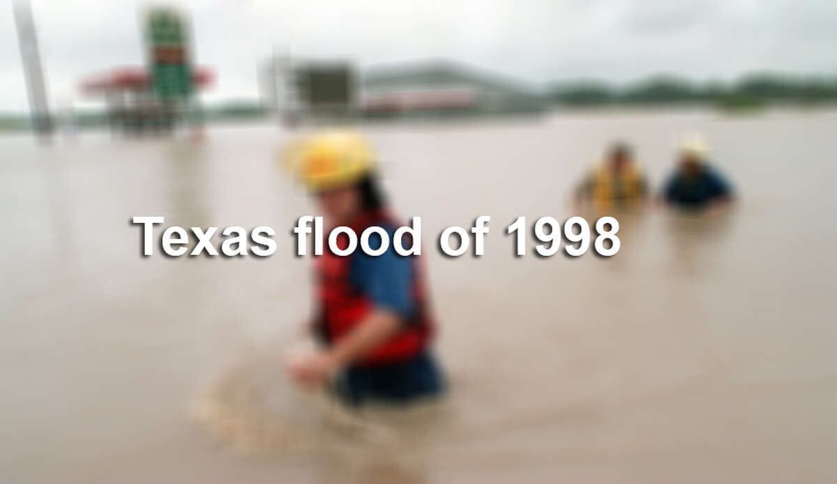 A rainstorm from Oct. 17-19, 1998 set all-time records for rainfall and river levels, resulting in the death of 25 people, and causing more than $500 million damage from the Hill Country to the counties south and east of San Antonio.