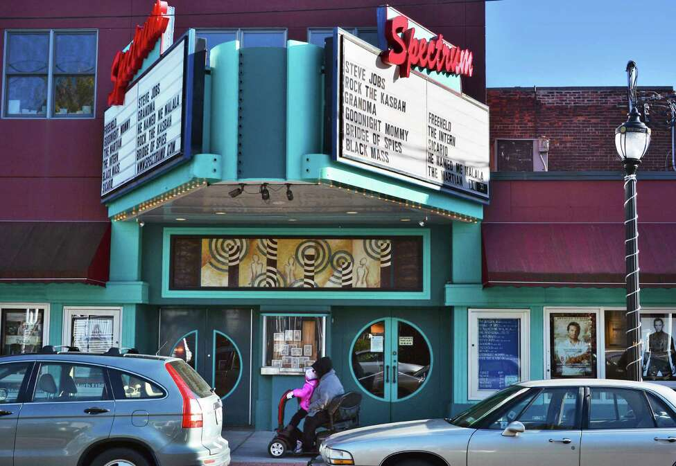 The Spectrum 8 Theatres on Delaware Avenue in Albany has been sold to Landmark Theaters. Oct. 23, 2015 (John Carl D'Annibale / Times Union)