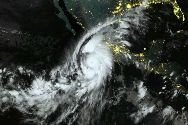 "This October 23, 2015, 06:00 UTC Eumetsat satellite image shows category 5 Hurricane Patricia, off the Pacific coast of Mexico. Monster Hurricane Patricia roared toward Mexico's Pacific coast on Friday, prompting authorities to evacuate villagers, close ports and urge tourists to cancel trips over fears of a catastrophe. The US National Hurricane Center called Patricia the strongest eastern north Pacific hurricane on record. It said the storm will make a potentially catastrophic landfall later Friday in southwestern Mexico. AFP PHOTO / HANDOUT - EUMETSAT === RESTRICTED TO EDITORIAL USE / MANDATORY CREDIT: ""AFP PHOTO / HANDOUT / EUMETSAT ""/ NO MARKETING / NO ADVERTISING CAMPAIGNS / DISTRIBUTED AS A SERVICE TO CLIENTS / GETTY OUT ===HO/AFP/Getty Images"
