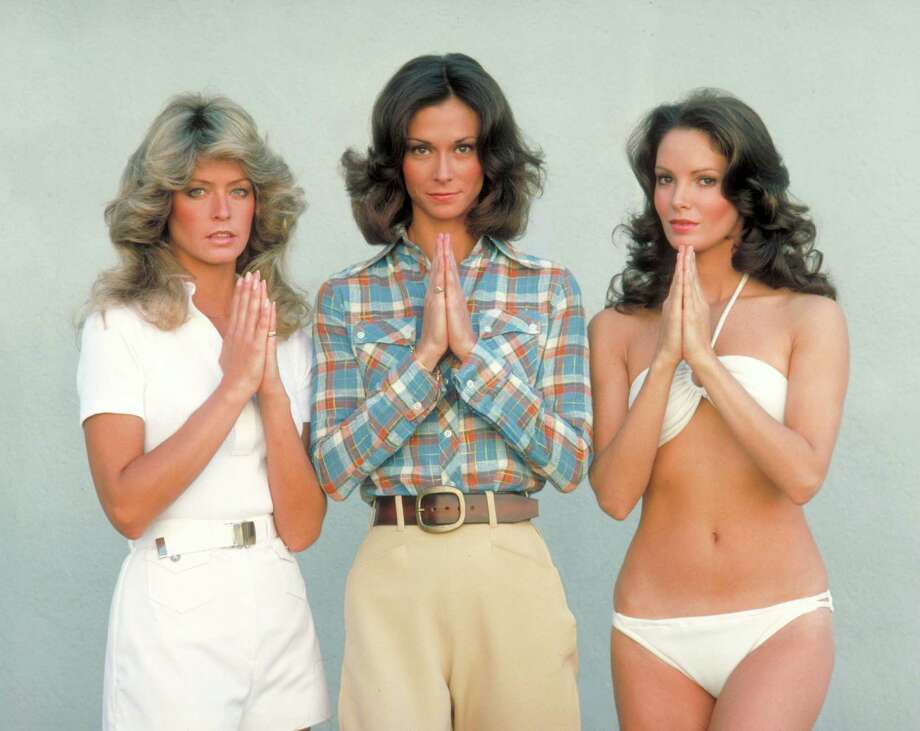 Pictured, from left: Farrah Fawcett-Majors, Kate Jackson and Jaclyn Smith played undercover detectives of the Charles Townsend Detective Agency. Smith played angel Kelly Garrett in the 1970s show and has aged beautifully as she celebrates her 70th birthday this week. Photo: ABC Photo Archives, Getty Images / 1976 ABC Photo Archives