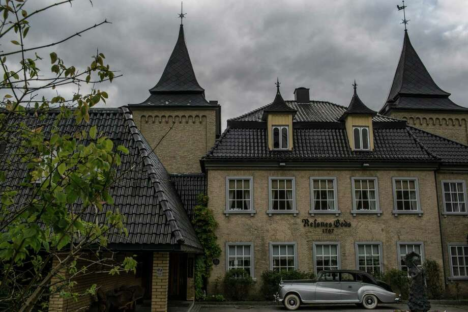 Refsnes Gods, a luxury hotel inside a 19th-century mansion many believe is haunted,  near Moss, Norway, Oct. 6, 2015. While interest in organized religion steadily wanes in Norway, belief in — or, at least, fascination with — ghosts and spirits is surging. (Mauricio Lima/The New York Times) Photo: MAURICIO LIMA, STR / New York Times / NYTNS