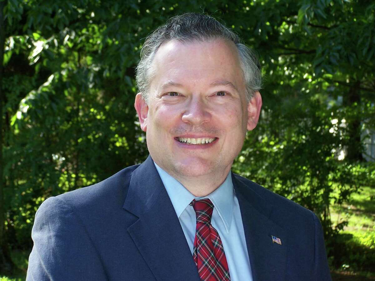 Peter Barber, a candidate for Town Supervisor in Guilderland 2015 elections.