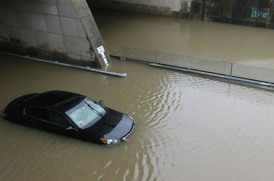 Houston has already gotten more rain than usual this year. Click the slideshow to learn the city's rainfall totals for the past 10 years and see how we compare so far this year. Photo: Elizabeth Conley, Houston Chronicle / © 2015 Houston Chronicle
