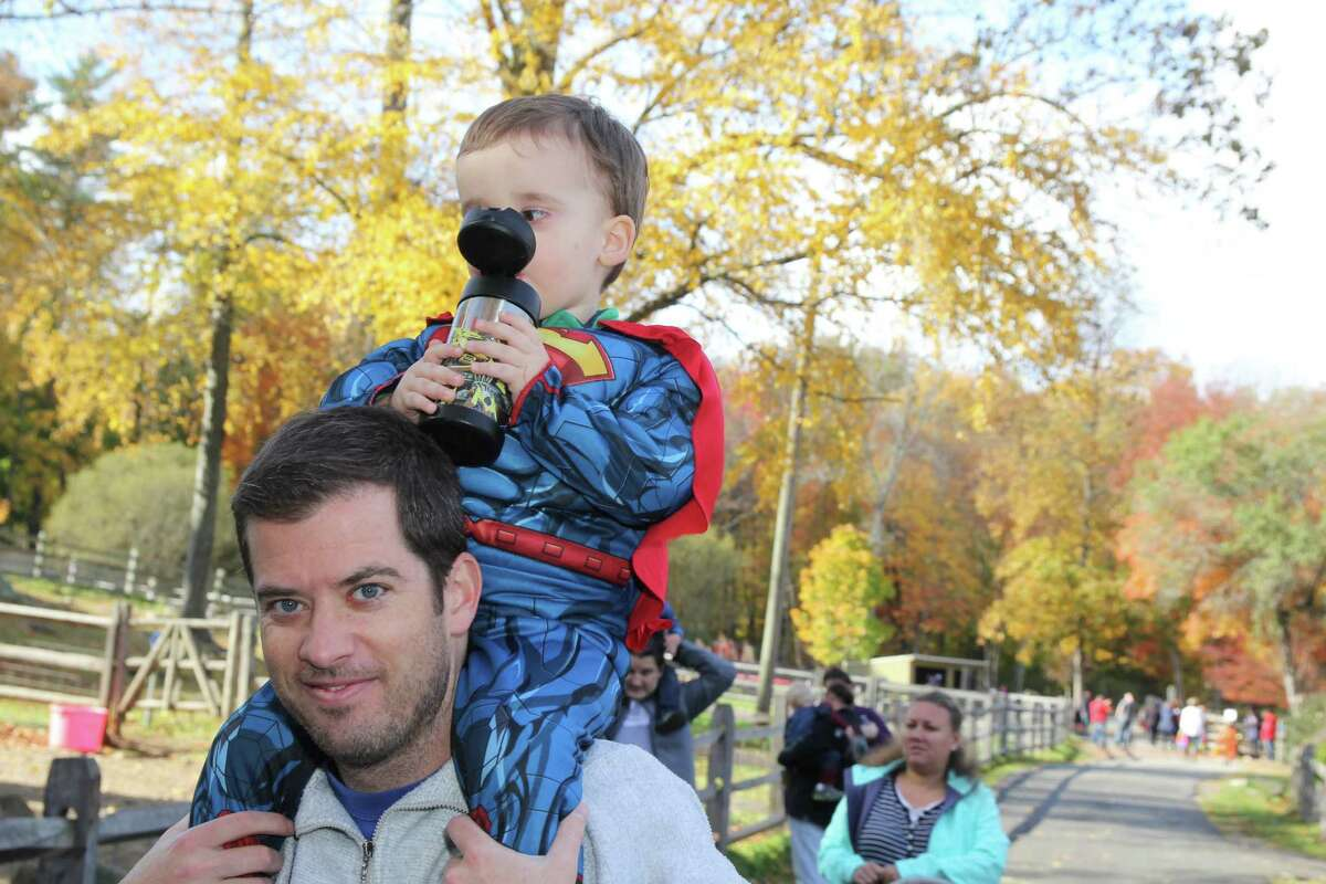 Kids sported their Halloween costumes a week early during the Stamford Museum and Nature Center's event Trick or Treat on Heckscher Farm on October 25, 2015. Were you SEEN?