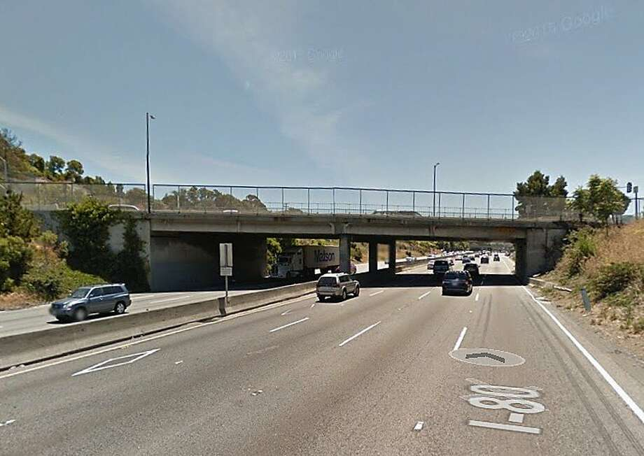 A woman was killed after crashing her minivan in westbound lanes of Interstate 80 early Sunday morning in San Pablo, the CHP said. Photo: Google Maps