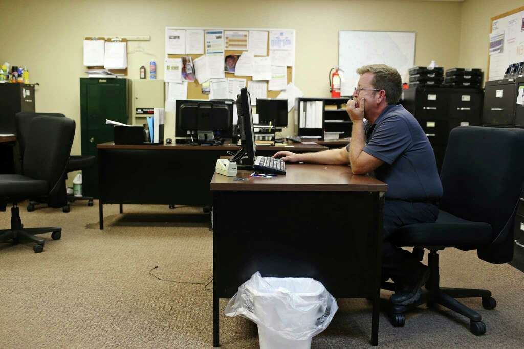 Administrative Sgt. Roger Baker Works In An Office Shared With Three Other  Personnel At The