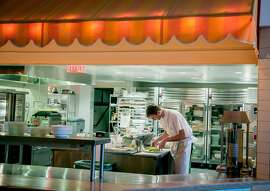 The kitchen at Bon Marche in San Francisco, Calif. is seen on Saturday, October 24th, 2015.