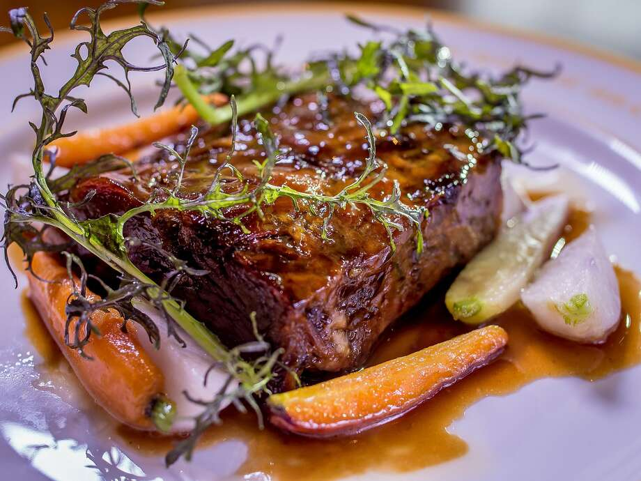 Braised lamb at Bon Marche on Market Street in S.F. Photo: John Storey, Special To The Chronicle