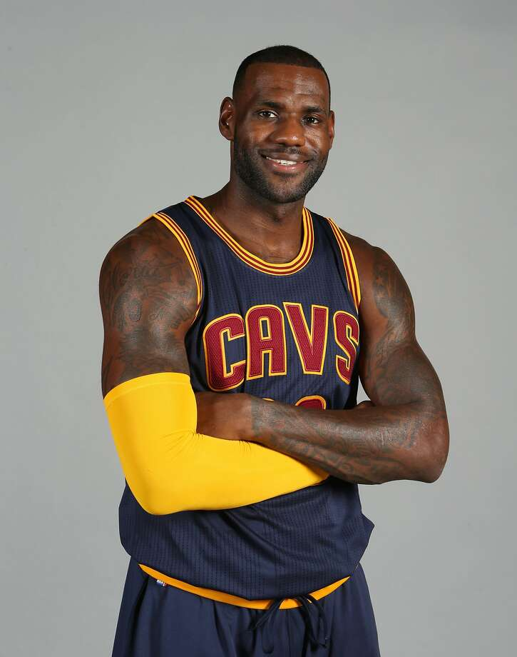 FILE - This is a Sept. 28, 2015, file photo showing Cleveland Cavaliers' LeBron James posed during the NBA team's media day Independence, Ohio. (AP Photo/Ron Schwane, File) Photo: Ron Schwane, Associated Press