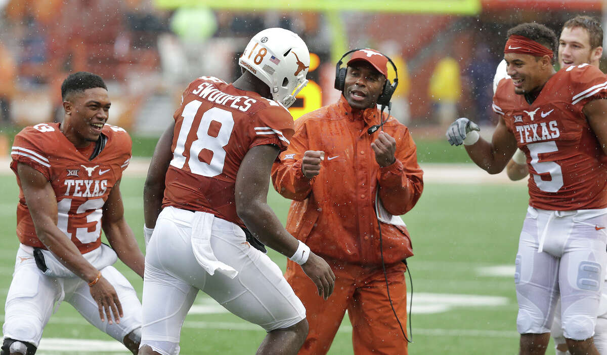 Speaking of heading things in the right direction, Texas continued doing so with a 23-9 victory over Kansas State in Austin, two weeks after toppling then-No. 9 Oklahoma in Dallas. The Wildcats had defeated UT in six of their seven previous meetings, giving another Big 12 victory for the Longhorns even sweeter significance.