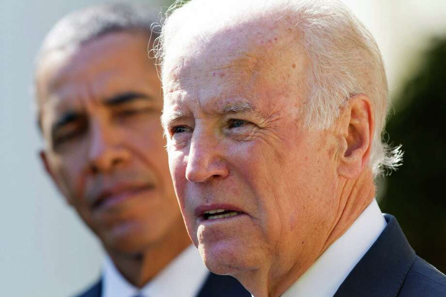 Vice President Joe Biden announced Wednesday that he would not run for president. Photo: Jacquelyn Martin /Associated Press / AP