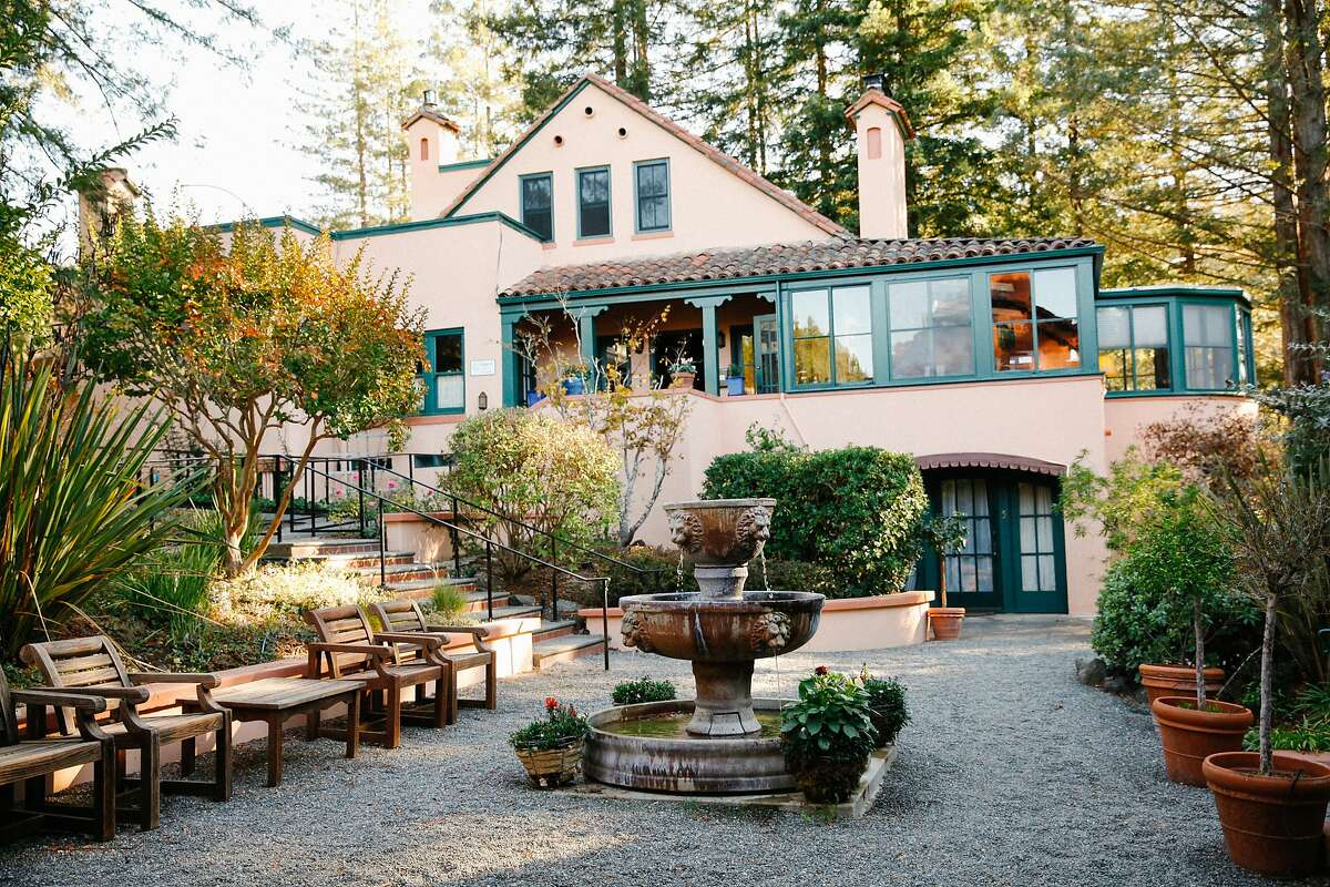 The gardens at Applewood Inn in Guerneville, Calif., Wednesday, October 21, 2015.