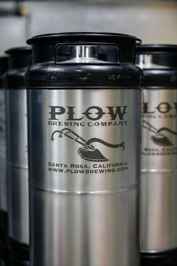 Beer brewed at Plow in Santa Rosa, Calif., on Wednesday, October 21, 2015. Photo: Sarah Rice, Special To The Chronicle