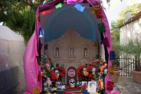The Day of the Dead was celebrated in San Antonio at La Villita on Sunday at with live music, treats, face painting and altars and offerings to dead people.
