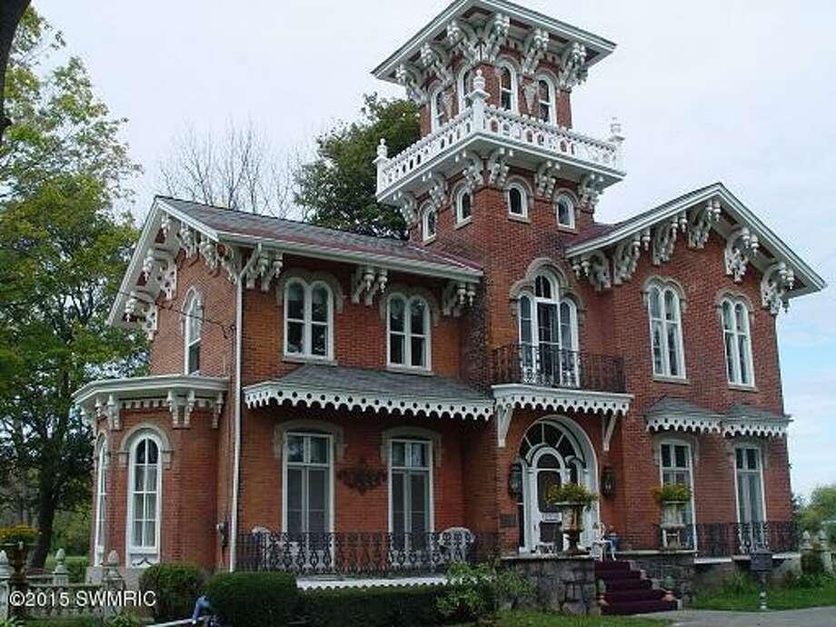 The grand facade. Photos: Estately
