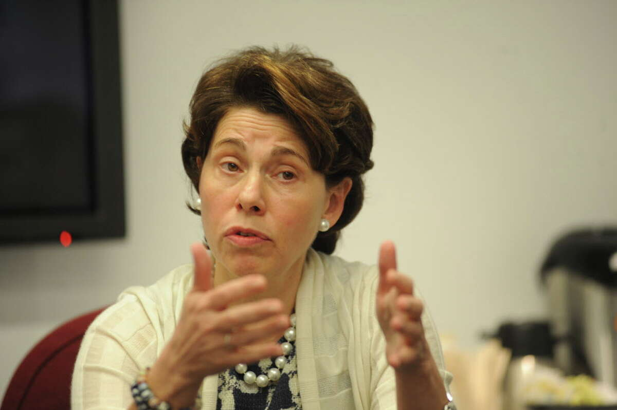 Merryl Tisch, Chancellor of the Board of Regents meets with the Daily News Editorial Board Tuesday at the Daily News Office.