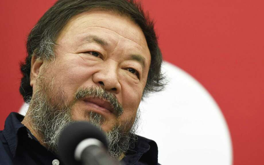 Chinese artist Ai Weiwei is pictured prior to a press conference at the University of Fine Arts in Berlin on October 26, 2015. Ai Weiwei, in Germany since July 30, 2015 after being barred from overseas travel for four years, will start as a lecturer at the Berlin University of Fine Arts in November 2015 Photo: TOBIAS SCHWARZ, AFP / Getty Images / AFP
