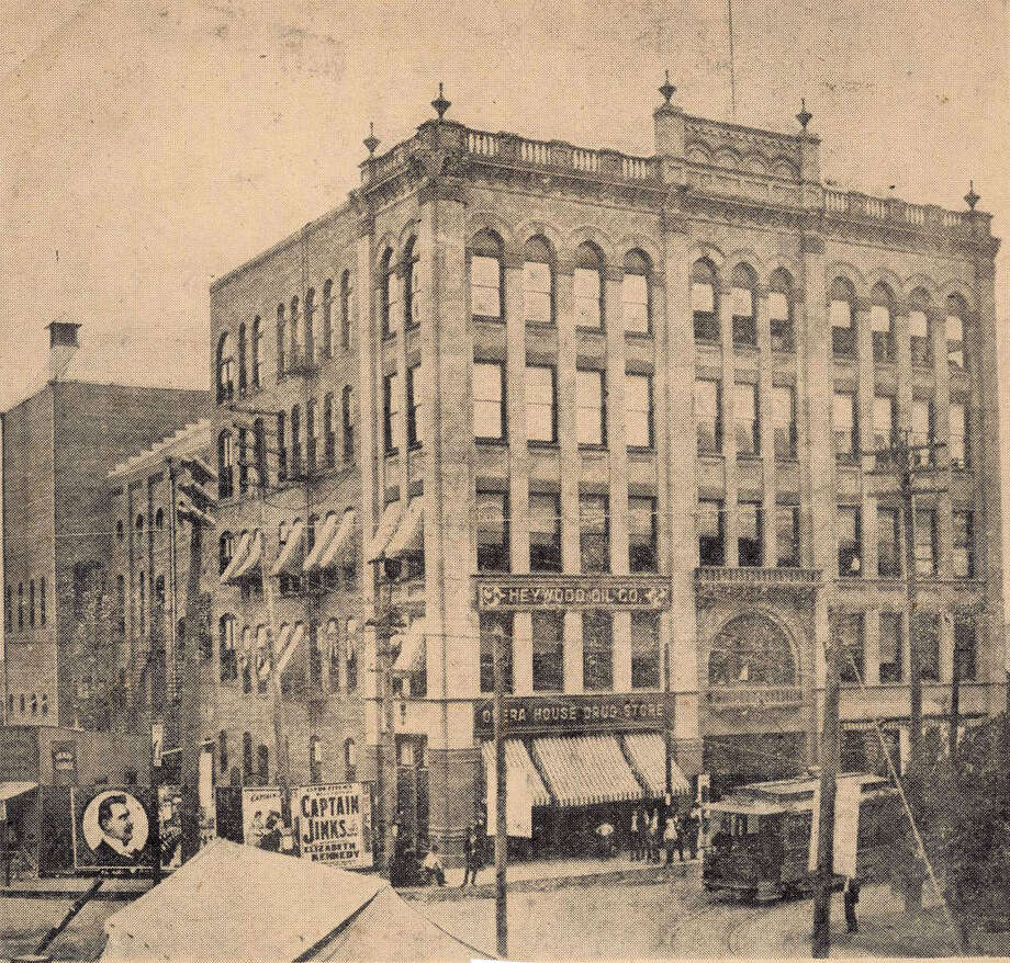 Beaumont's former Kyle Building was the scene of the 1909 murder of Patrick J. Lynch whose body was found in the fourth floor stairwell.  Enterprise file photo from 1903