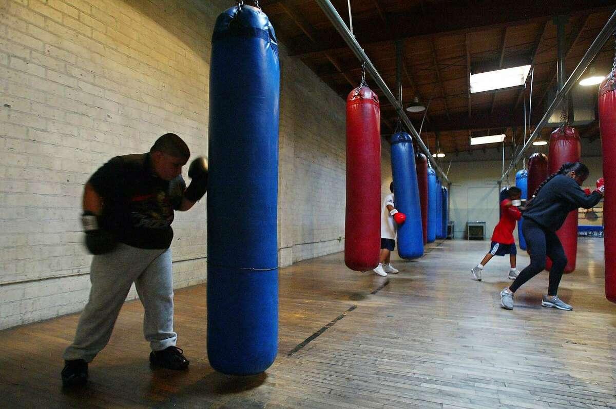 L.A. Boxing Club 2003, Los Angeles.