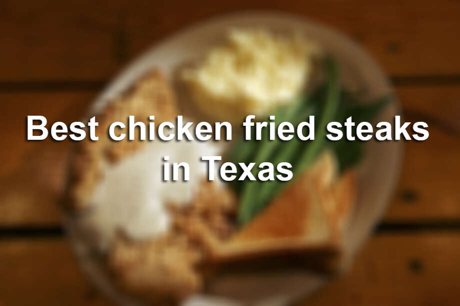 The Express-News and mySA.com joined with several other Texas newspapers to determine the best chicken-fried steaks in the Lone Star State. Photo: San Antonio Express-News