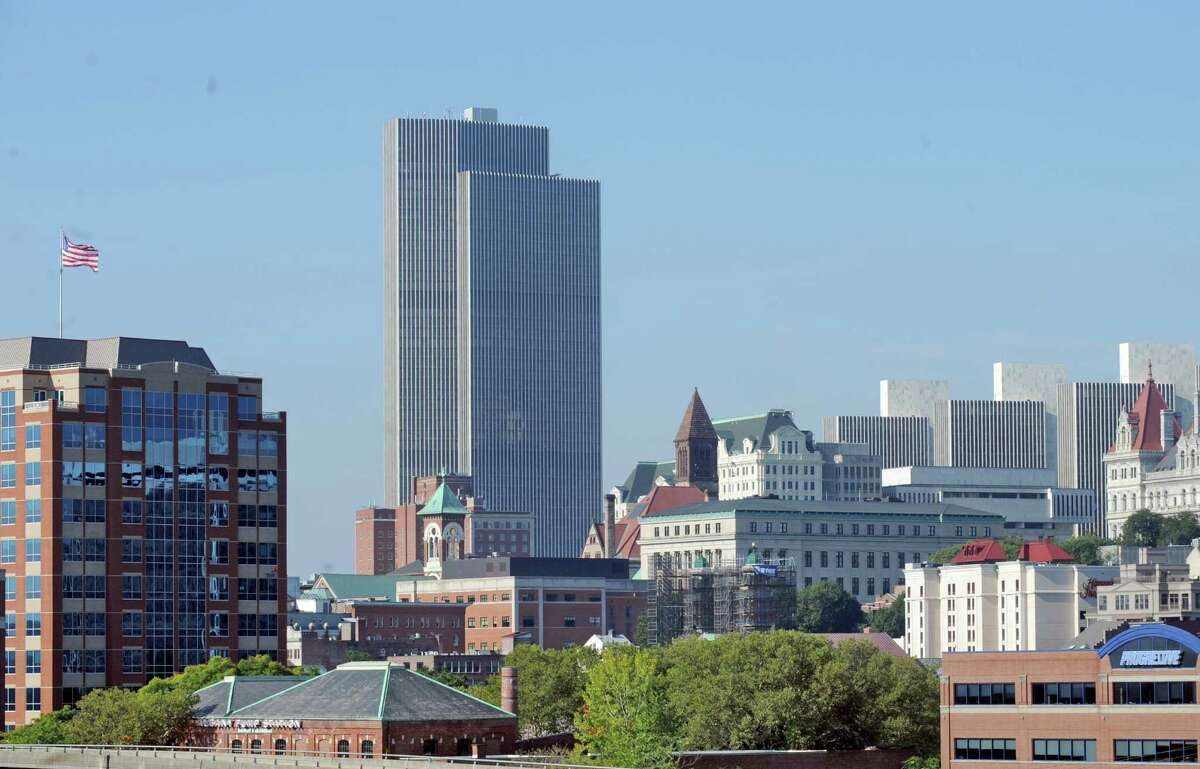 Click through the slideshow to learn a little about the variety of architectural styles that make up the Albany skyline.