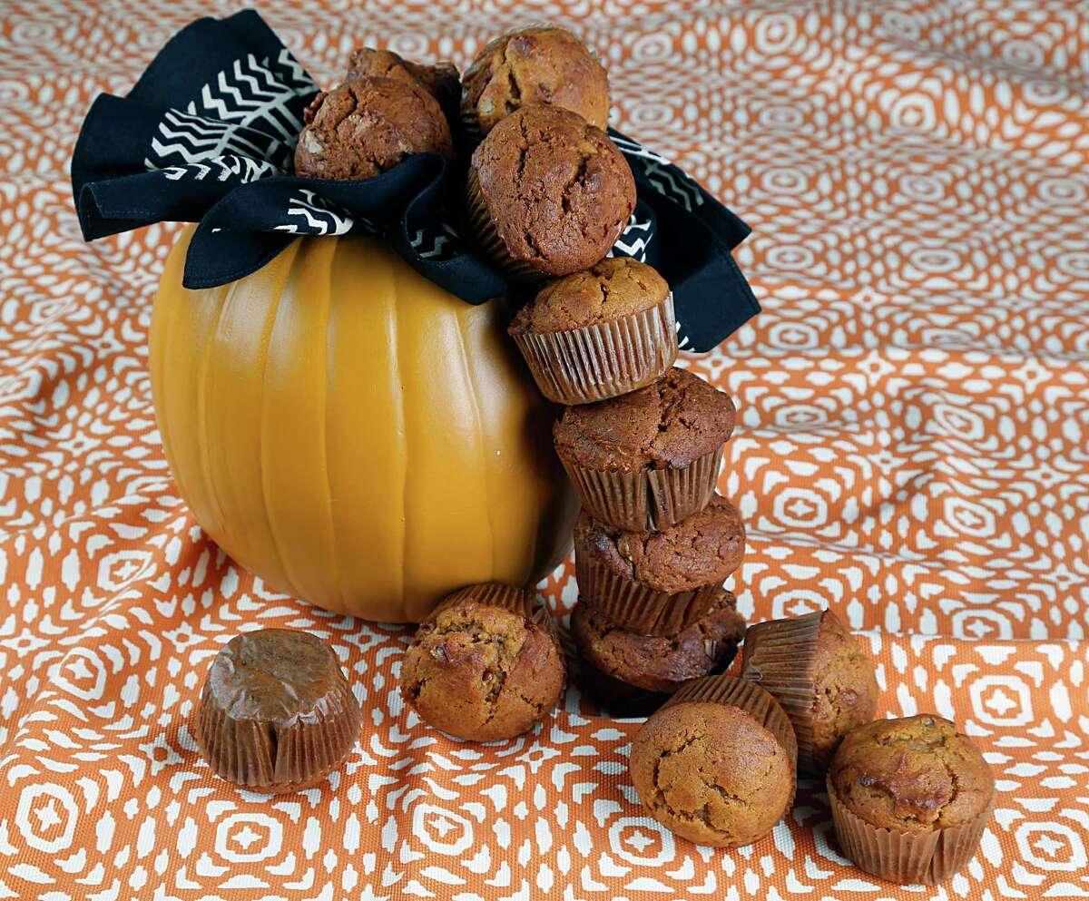 Pumpkin muffins for k2k Thursday, Oct. 15, 2015, in Houston. ( James Nielsen / Houston Chronicle )