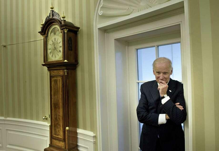 Vice President Joe Biden said time ran out on his decision to run for the presidency. Readers lament his decision. Photo: Brendan Smialowski /AFP / Getty Images / 2012 Brendan Smialowski