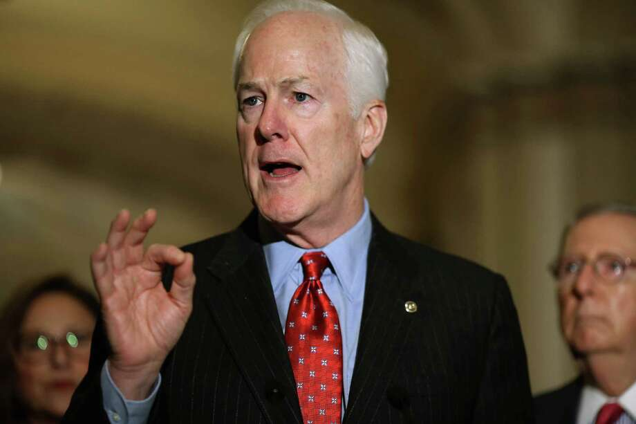 U.S. Sen. John Cornyn has introduced an interesting bill addressing mental health reporting, but he has opposes gun control measures. Photo: Chip Somodevilla /Getty Images / 2015 Getty Images