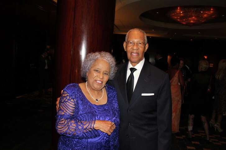 "Rev. William and Audrey Lawson attend first annual ""Real Role Models"" gala at the Royal Sonesta hotel on Saturday, Oct. 24."