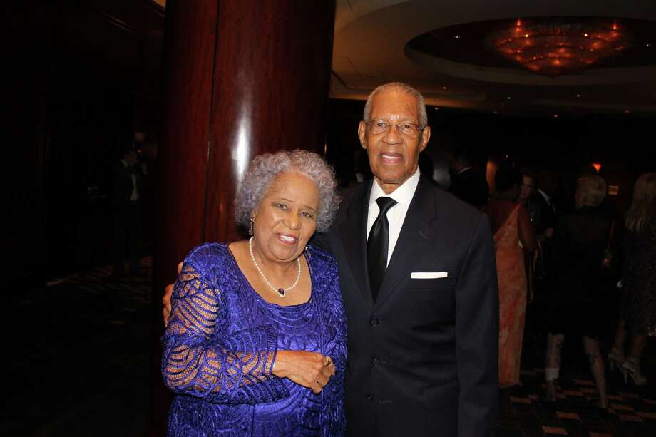 "Rev. William and Audrey Lawson are shown at the first annual ""Real Role Models"" gala at the Royal Sonesta hotel on Oct. 24. Photo: Amanda White"