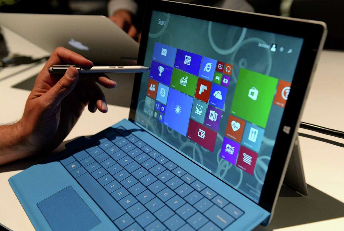It's not looking good for individual Microsoft products, all of which are expected to have dropping demand. The Surface Pro 3 (pictured) is least likely to suffer.