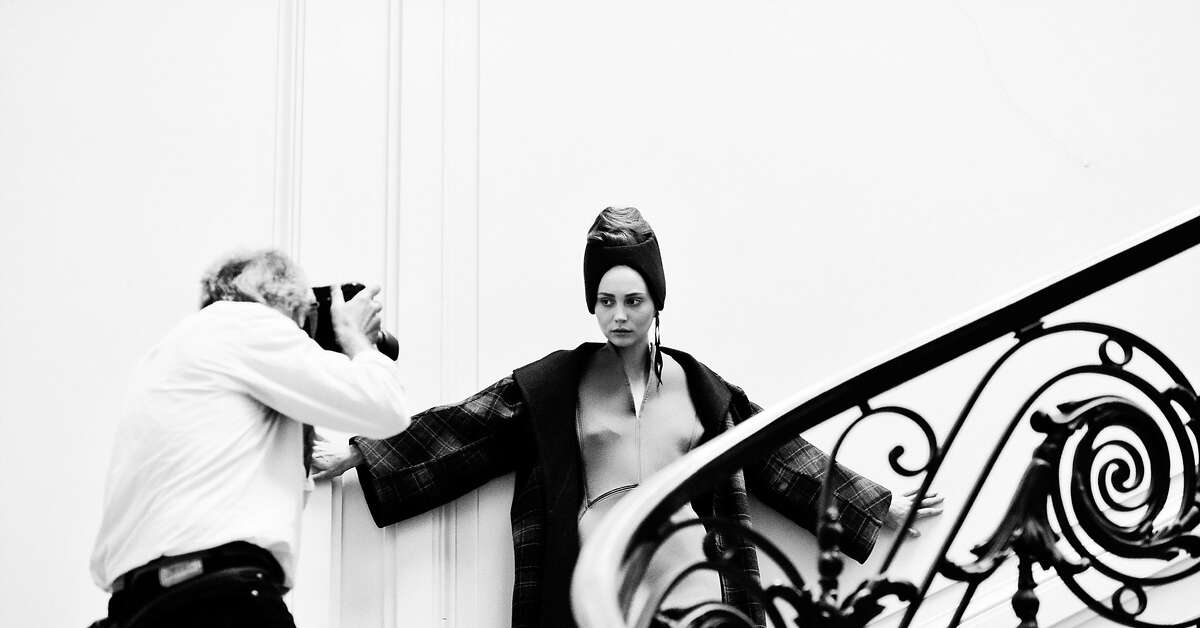 An image from a shoot of designer Stephanie Coudert's clothing.