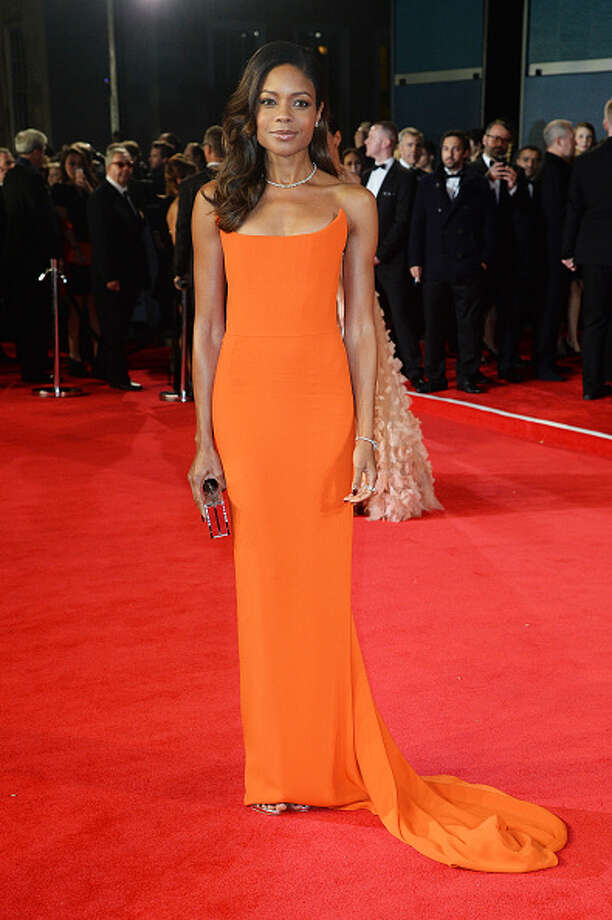 Naomie Harris attends the Royal World Premiere of 'Spectre' at Royal Albert Hall in London, England. Photo: Dave J Hogan, 2015 Dave J Hogan / 2015 Dave J Hogan
