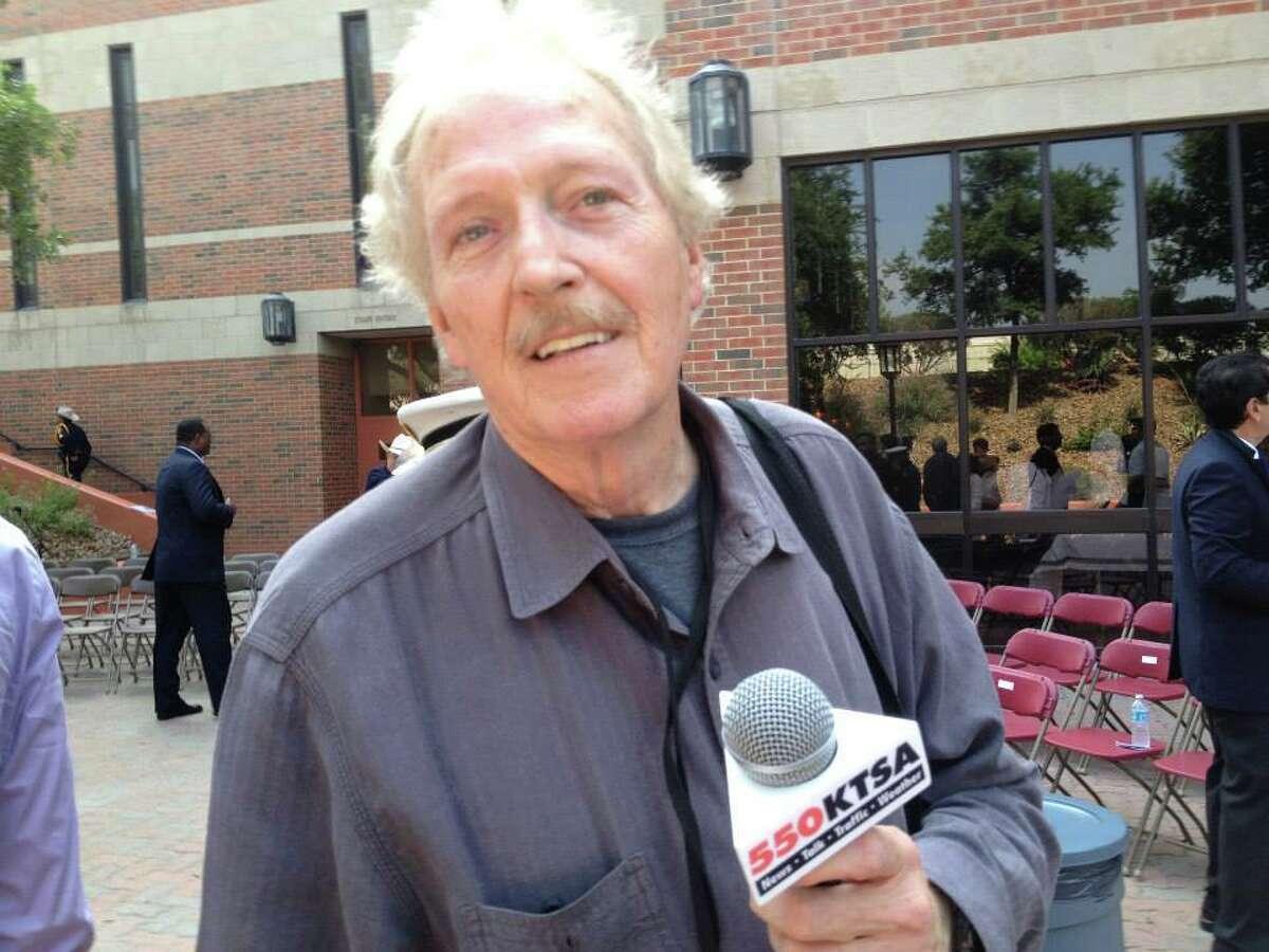 R.I.P. Johnny Shannon, a longtime KTSA news reporter.
