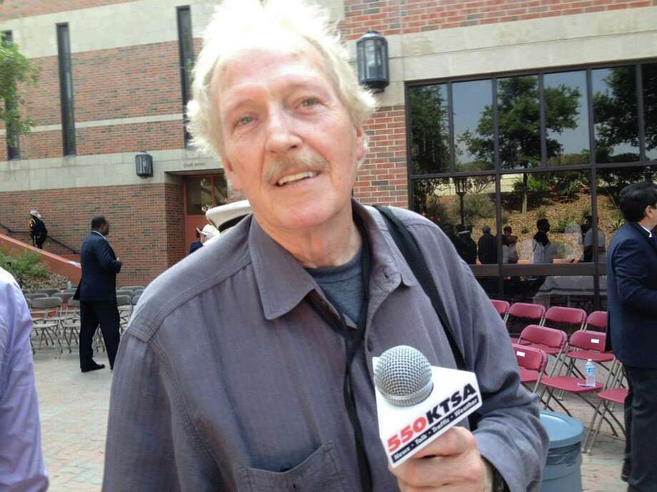 R.I.P. Johnny Shannon, a longtime KTSA news reporter. Photo: Courtesy