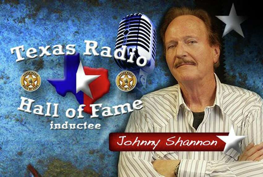Johnny Shannon was celebrated in August at the San Antonio Radio Hall of Fame.