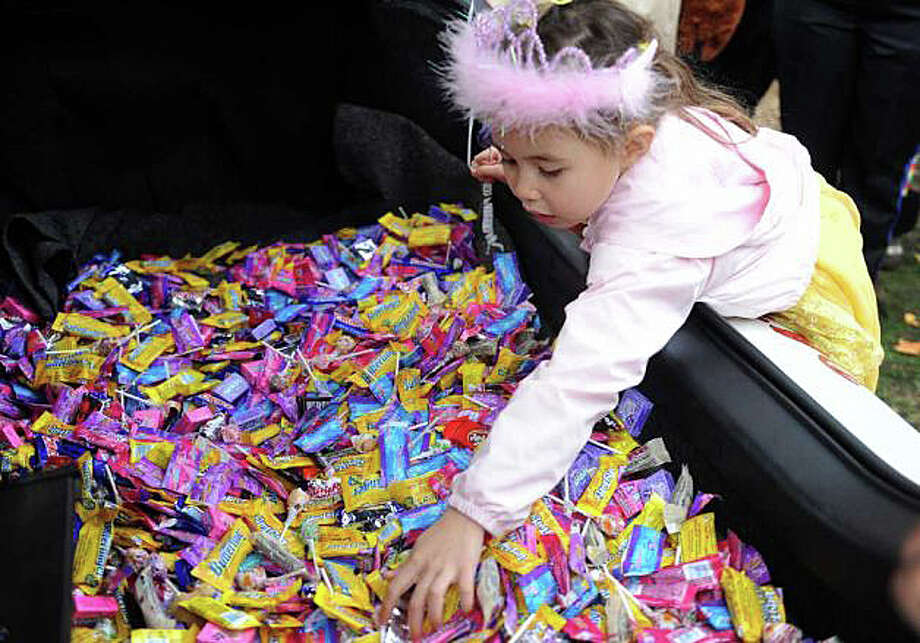 Treats aplenty will be availble for young tricksters Friday at businesses throughout downtown during the annual Trick or Treat on Safety Street. Photo: File Photo / File Photo / Fairfield Citizen