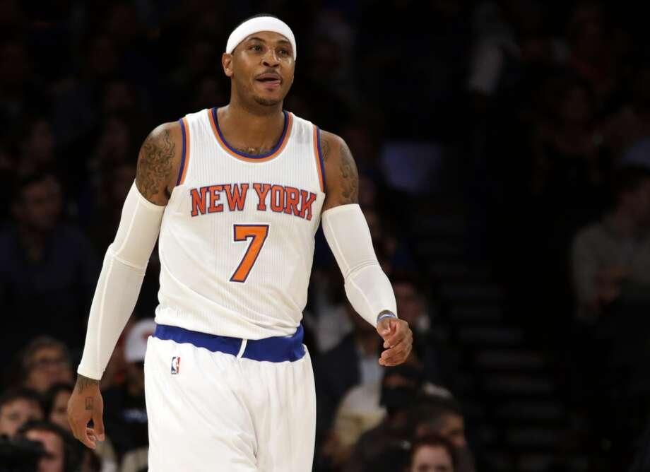 15. Carmelo Anthony, New York Knicks Photo: Adam Hunger, Associated Press