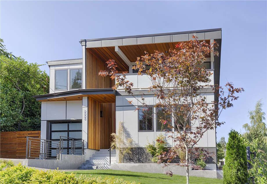 Here's a modern home in at 2222 E. McGraw St. in Seattle. For the full listing, go here. Photo: Geoffrey Thomas