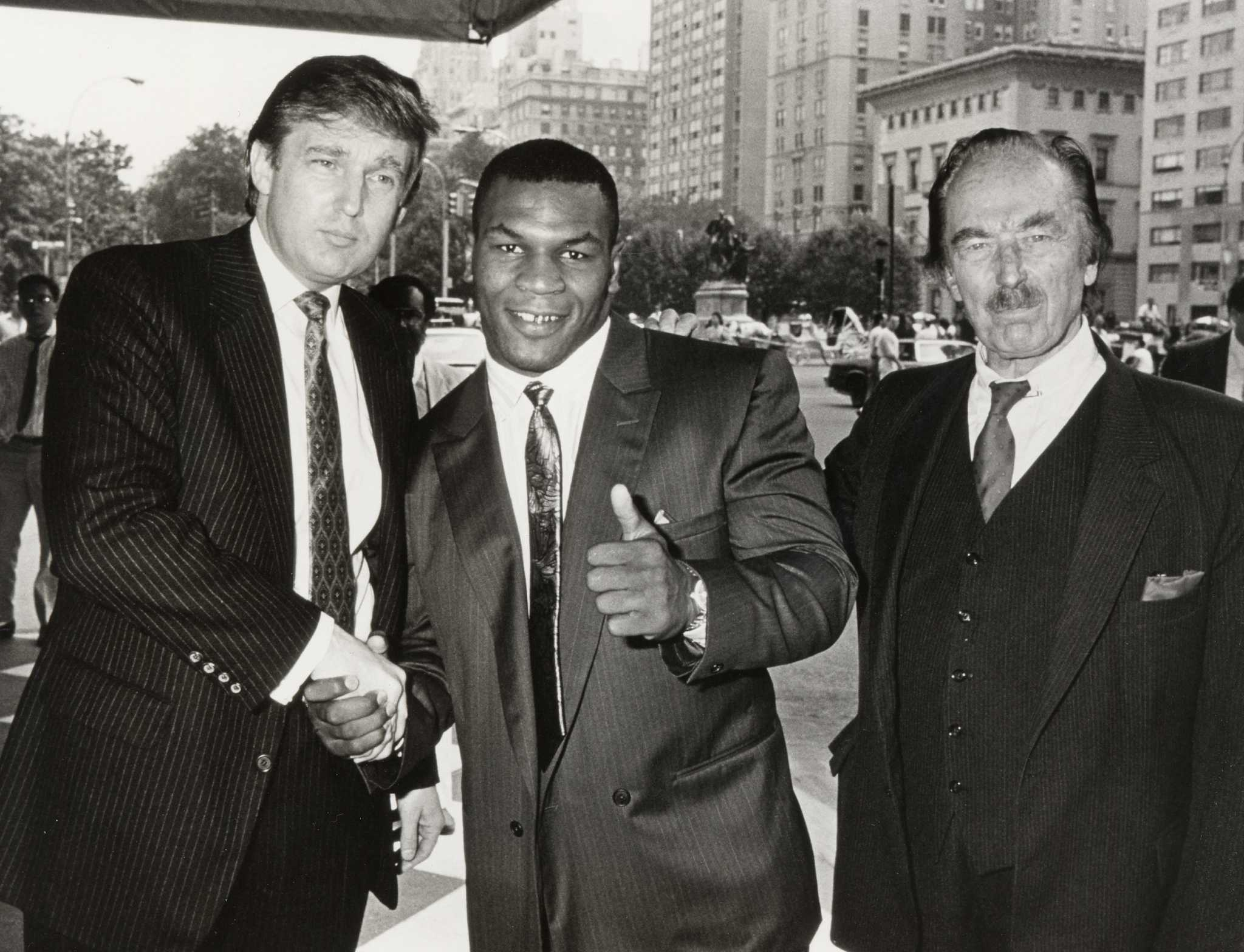 Mike Tyson Supports Donald Trump S Campaign For President