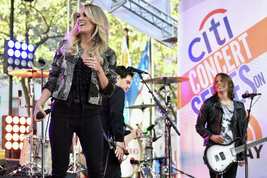 Carrie Underwood is coming to town in-the-round. Photo: Mike Coppola, Getty Images For Citi / 2015 Getty Images