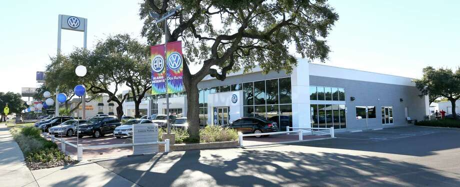 Group 1 Automotive, which seven Volkswagen dealerships in the U.S., expects sales to fall at those sites.  Photo: WILLIAM LUTHER, Staff / © 2015 San Antonio Express-News