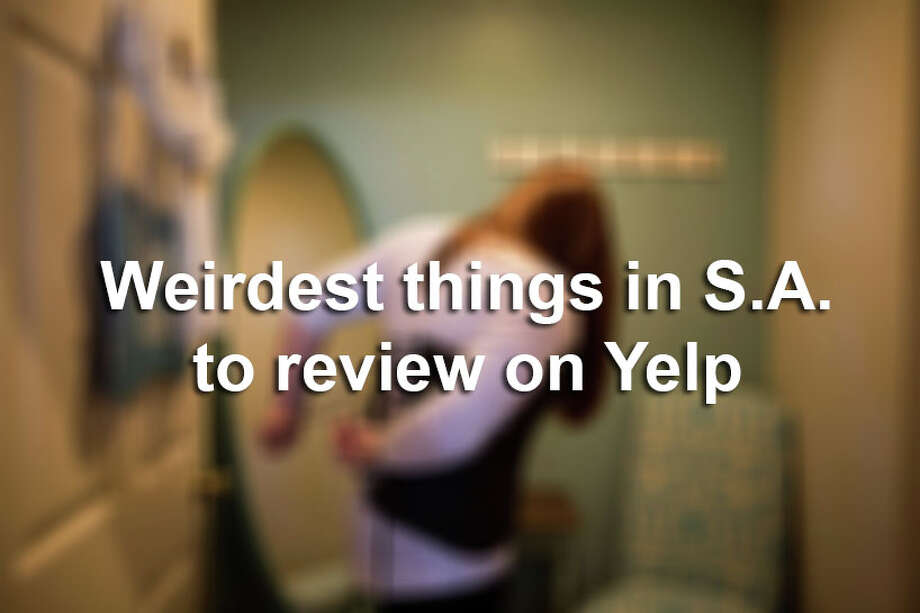 From haunted spots to Fiesta events to local celebrities, here are the weirdest San Antonio subjects people have reviewed on Yelp. Photo: Carolyn Van Houten, File / 2015 San Antonio Express-News