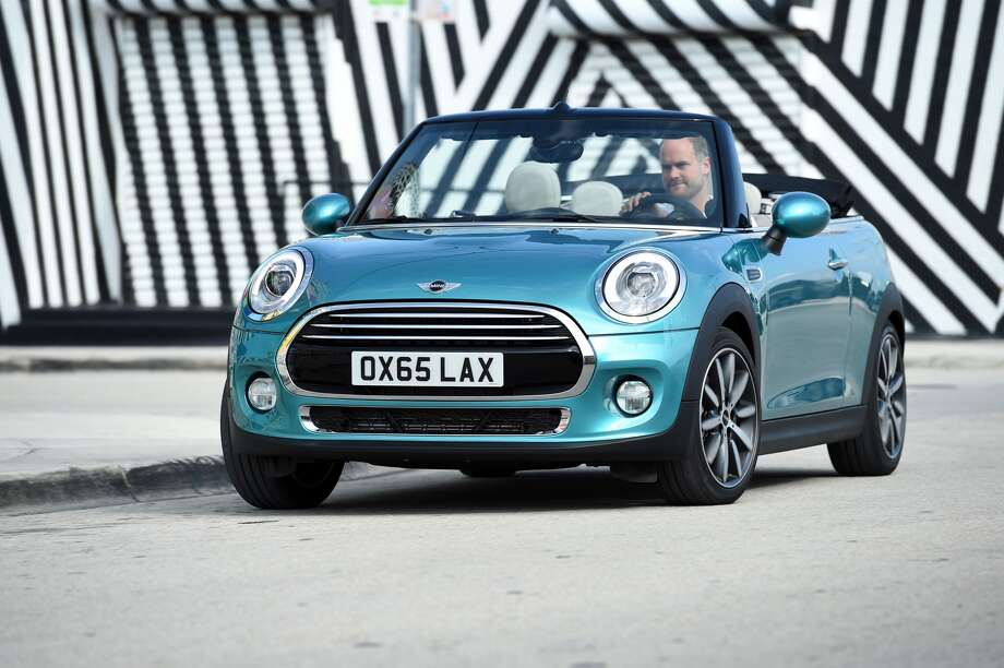 The new 2016 Mini Cooper convertible is set to go on sale next March.Source: BMW
