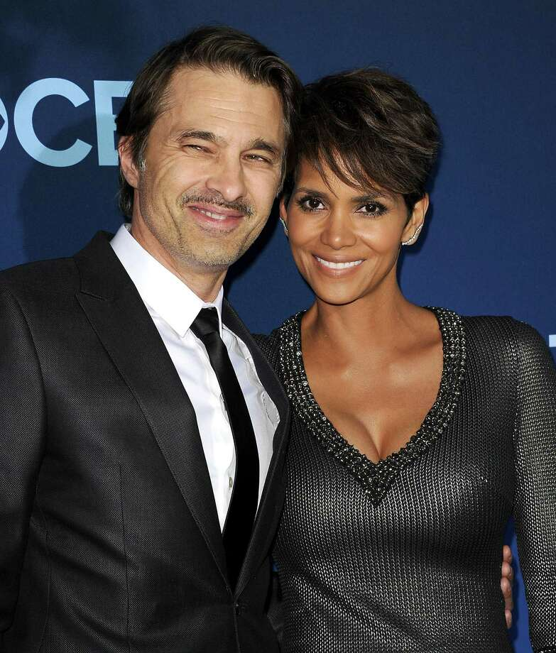 """LOS ANGELES, CA - JUNE 16:  Actor Olivier Martinez and actress Halle Berry attend the premiere of """"Extant"""" at California Science Center on June 16, 2014 in Los Angeles, California.  (Photo by Jason LaVeris/FilmMagic) Photo: Jason LaVeris, Getty Images / 2014 Jason LaVeris"""